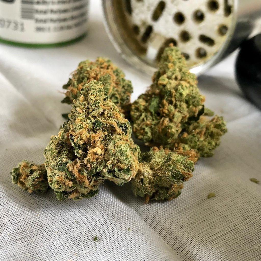 flor de marihuana