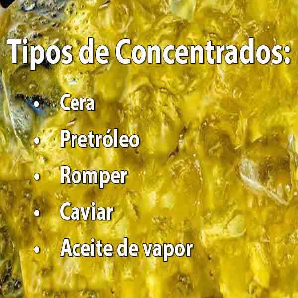 Tipos de Concentrados