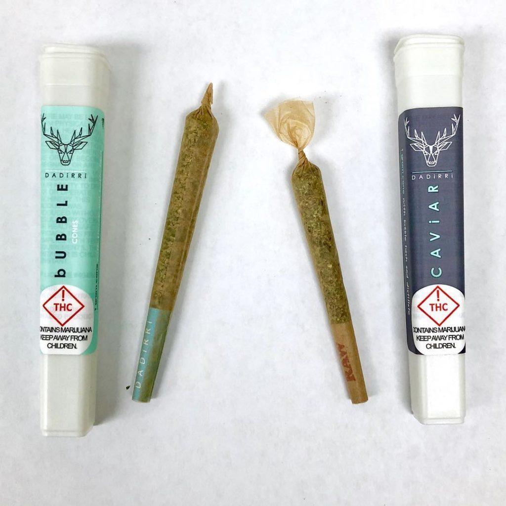 articulaciones de marihuana prerolladas