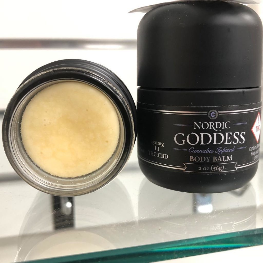 bottle of Nordic Goddess balm
